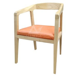 Contemporary Retro Style Arm Dining Chair