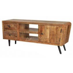 Teak Wood Retro Style TV Cabinet
