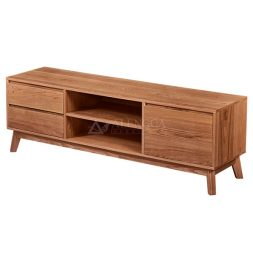 Teak Wood Scandinavian Style TV Entertainment Unit indoor collection from Alengga Furniture product made by solid Reclaimed Teakwood materials
