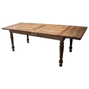 Reclaimed Teakwood Modern Style Natural Teak Rectangular Dining Table